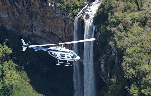 helicoptero em gramado e canela