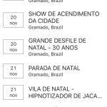agenda gramado blog app
