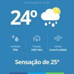 clima gramado blog app