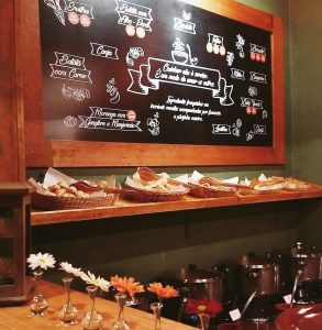 Tucano da Serra reestreia em Canela quadro com informações gastronomicas