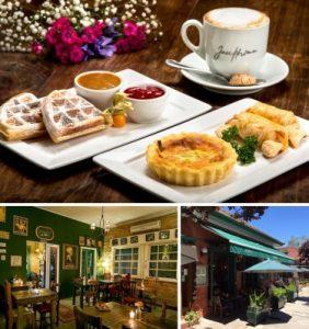 Onde vegetarianos e veganos podem comer em Gramado e Canela. Pratos e ambiente do Josephina